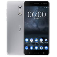 Nokia 6 Dual SIM 64GB 4GB RAM 4G LTE International SmartPhone Silver  UNLOCKED (1 YEAR WARRANTY)