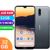 UNLOCKED New Nokia 2.3 32GB 2GB RAM 4G LTE Smartphone Charcoal (FREE DELIVERY + 1 YEAR WARRANTY)