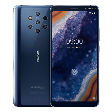 UNLOCKED New Nokia 9 Pureview Dual SIM 128GB 4G LTE SmartPhone Blue (FREE DELIVERY + 1 YEAR WARRANTY)