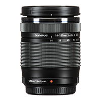 New Olympus M.Zuiko 14-150mm F4.0-5.6 II Lens Black (FREE DELIVERY + 1 YEAR WARRANTY)