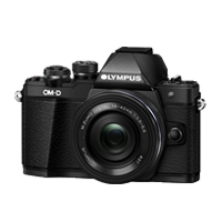 New Olympus OM-D E-M10 Mark II (14-42 EZ) Digital Camera Black (FREE DELIVERY + 1 YEAR WARRANTY)