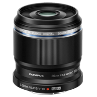 Olympus M.Zuiko Digital ED 30mm f/3.5 Macro Lens (1 YEAR WARRANTY)