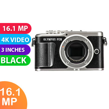 New  Olympus PEN E-PL9 Body (kit Box) Black (FREE DELIVERY + 1 YEAR WARRANTY)