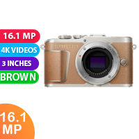 New  Olympus PEN E-PL9 Body (kit Box) Brown (FREE DELIVERY + 1 YEAR WARRANTY)