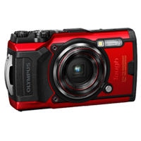 New Olympus TOUGH TG-6 12MP Digital Camera Red (FREE DELIVERY + 1 YEAR WARRANTY)