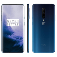 UNLOCKED New OnePlus 7 Pro Dual Sim 256GB 12GB RAM 4G LTE Smartphone Blue (FREE DELIVERY + 1 YEAR WARRANTY)