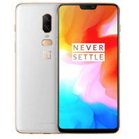 UNLOCKED New OnePlus 6 A6003 Dual Sim 128GB 16MP 4G LTE Smartphone Silk White (FREE DELIVERY + 1 YEAR WARRANTY)