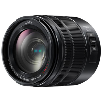 New Panasonic G VARIO 14-140mm F3.5-5.6 MK II Lens Black (FREE DELIVERY + 1 YEAR WARRANTY)