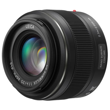 New Panasonic LEICA DG SUMMILUX 25mm F1.4 ASPH Lens (FREE DELIVERY + 1 YEAR WARRANTY)