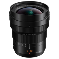Panasonic Leica DG Elmarit 8-18mm f/2.8-4.0 Asph Lens Black (PRIORITY DELIVERY)