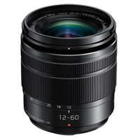 New Panasonic LUMIX G 12-60mm f/3.5-5.6 ASPH O.I.S. Lens Black (FREE DELIVERY + 1 YEAR WARRANTY)