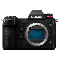 New Panasonic LUMIX DC-S1 24MP Digital SLR Camera Body (FREE DELIVERY + 1 YEAR WARRANTY)