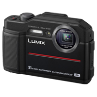 New Panasonic Lumix DC-TS7 Digital Cameras Black (FREE DELIVERY + 1 YEAR WARRANTY)