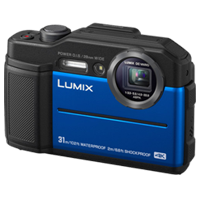 New Panasonic Lumix DC-TS7 Digital Cameras Blue (FREE DELIVERY + 1 YEAR WARRANTY)