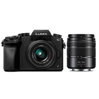 New Panasonic Lumix DMC-G7 Kit (14-42)(45-150) Digital Camera (FREE DELIVERY + 1 YEAR WARRANTY)