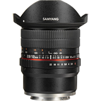 New Samyang 12MM F/2.8 ED AS NCS Fisheye Lens for Sony E (FREE DELIVERY + 1 YEAR WARRANTY)