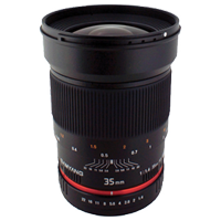 New Samyang 35mm f/1.4 AS UMC Sony A-Mount (FREE DELIVERY + 1 YEAR WARRANTY)