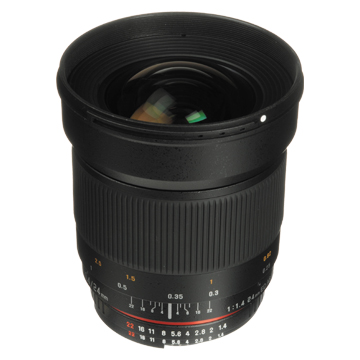 New Samyang AE 24mm f/1.4 ED AS UMC (Nikon) Lens (FREE DELIVERY + 1 YEAR WARRANTY)