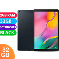 New Samsung Galaxy Tab A (10.1) 2019 (T510) Wifi 32GB 2GB RAM Tablet Black (FREE DELIVERY + 1 YEAR WARRANTY)