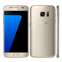 UNLOCKED New Samsung Galaxy S7 32GB 4G LTE Smartphone Gold (FREE DELIVERY + 1 YEAR WARRANTY)