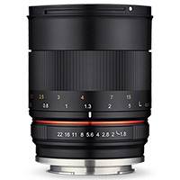 New Samyang 85mm f/1.8 ED UMC CS Lens for M4/3 (FREE DELIVERY + 1 YEAR WARRANTY)
