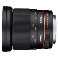 New Samyang 20mm f/1.8 ED AS UMC (Nikon AE) (FREE DELIVERY + 1 YEAR WARRANTY)
