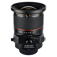 New Samyang T-S 24mm f/3.5 ED AS UMC for Pentax Lens (FREE DELIVERY + 1 YEAR WARRANTY)