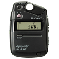 New Sekonic Illuminometer i-346 Light Meter DSLR Camera Kit (1 YEAR WARRANTY)