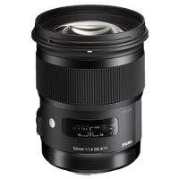 New Sigma 50mm f/1.4 DG HSM Art Lens for Sony A (FREE DELIVERY + 1 YEAR WARRANTY)