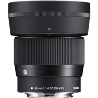 New Sigma 56mm f/1.4 DC DN Contemporary Lens for Canon EF-M (FREE DELIVERY + 1 YEAR WARRANTY)
