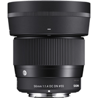 New Sigma 56mm f/1.4 DC DN Contemporary Lens for Sony E (FREE DELIVERY + 1 YEAR WARRANTY)