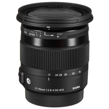 New Sigma 17-70mm f/2.8-4 DC OS HSM Contemporary Canon Lens (FREE DELIVERY + 1 YEAR WARRANTY)