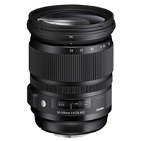 New Sigma 24-105mm f/4 DG OS HSM Art Lens (Sony A) (1 YEAR WARRANTY)