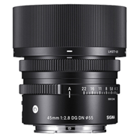 New Sigma 45mm f/2.8 DG DN Contemporary Lens for (Sony E) (FREE DELIVERY + 1 YEAR WARRANTY)
