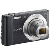 Sony Cyber-shot DSC-W810 20.1MP Digital Camera Black (1 YEAR WARRANTY)