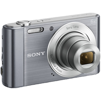 Sony Cyber-shot DSC-W810 20.1MP Digital Camera Silver (1 YEAR WARRANTY)