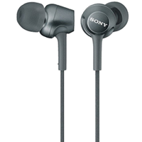 Sony MDR-EX250 In-ear Stereo Headphone Black (1 YEAR WARRANTY)