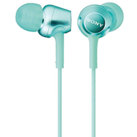 Sony MDR-EX250 In-ear Stereo Headphone Teal (1 YEAR WARRANTY)