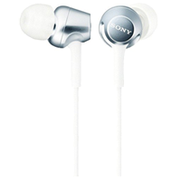 Sony MDR-EX250 In-ear Stereo Headphone White (1 YEAR WARRANTY)