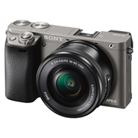 New Sony Alpha A6000 (16-50mm) Kit Digital SLR Cameras Gray (FREE DELIVERY + 1 YEAR WARRANTY)
