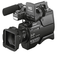 Sony HXR-MC2500 Shoulder Mount AVCHD Camcorder (1 YEAR WARRANTY)