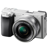 New Sony Alpha A6400 (16-50mm) Kit Digital SLR Cameras Silver (FREE DELIVERY + 1 YEAR WARRANTY)
