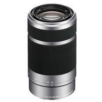 New Sony E 55-210mm F4.5-6.3 OSS Silver Lens (FREE DELIVERY + 1 YEAR WARRANTY)