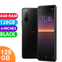 UNLOCKED New Sony Xperia 10 II Dual SIM 128GB 4GB RAM 4G LTE Smartphone Black (FREE DELIVERY + 1 YEAR WARRANTY)