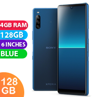 UNLOCKED New Sony Xperia 10 II Dual SIM 128GB 4GB RAM 4G LTE Smartphone Blue (FREE DELIVERY + 1 YEAR WARRANTY)