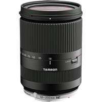 New Tamron 18-200mm f/3.5-6.3 Di III VC Lens for Canon EOS M Black (FREE DELIVERY + 1 YEAR WARRANTY)