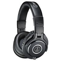 New Audio Technica ATH-M40x Over Ear Headphones Black (FREE DELIVERY + 1 YEAR WARRANTY)