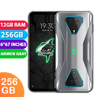 UNLOCKED New Xiaomi Black Shark 3 Pro 256GB 12GB RAM 5G Smartphone Armor Gray (FREE DELIVERY + 1 YEAR WARRANTY)