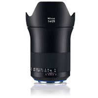 New Carl Zeiss Milvus ZE 1.4/25mm Lens For Canon (FREE DELIVERY + 1 YEAR WARRANTY)