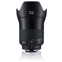 New Carl Zeiss Milvus ZF.2 1.4/25mm Lens For Nikon (FREE DELIVERY + 1 YEAR WARRANTY)